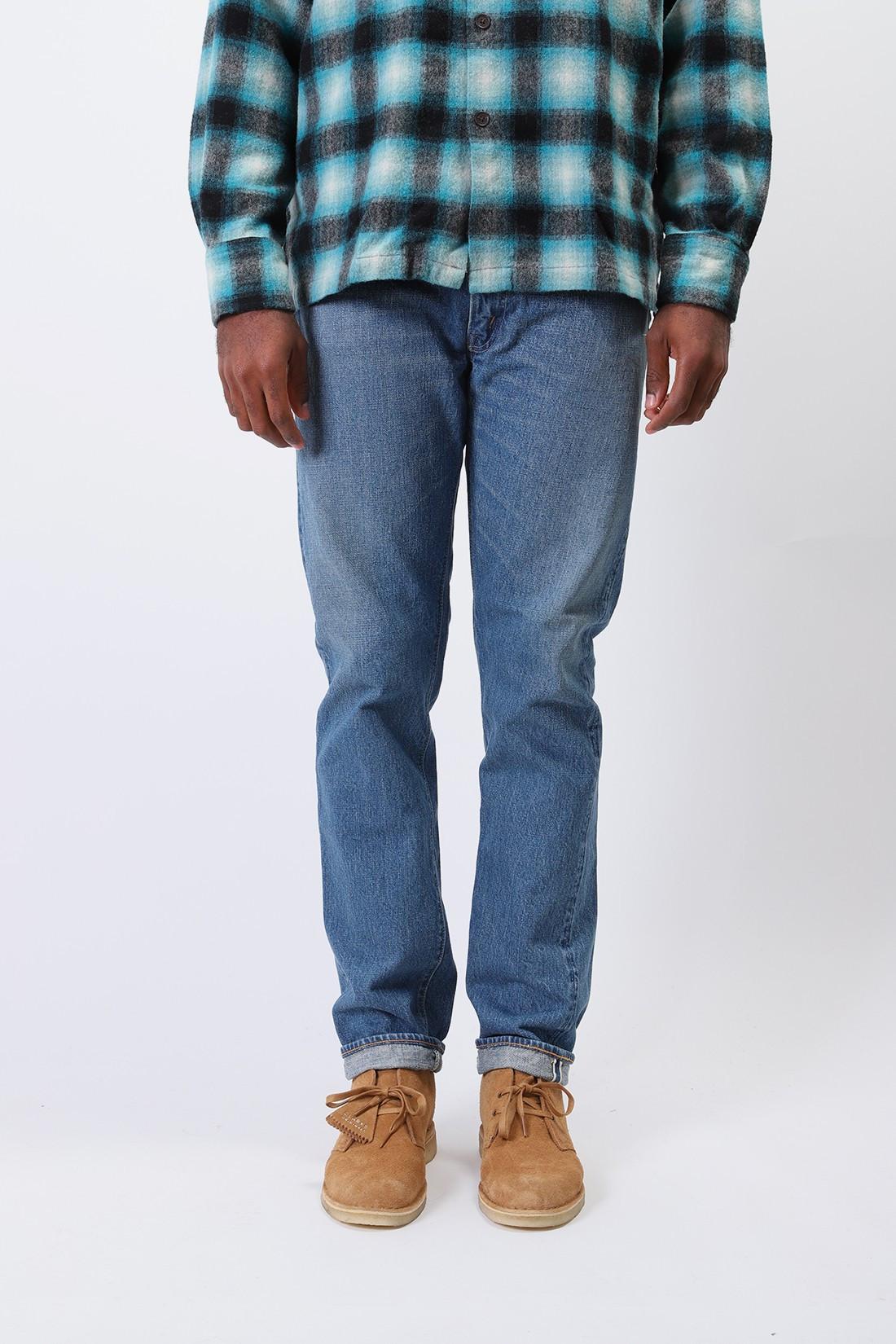 ORSLOW / 2 year wash 107 slim fit jean Indigo