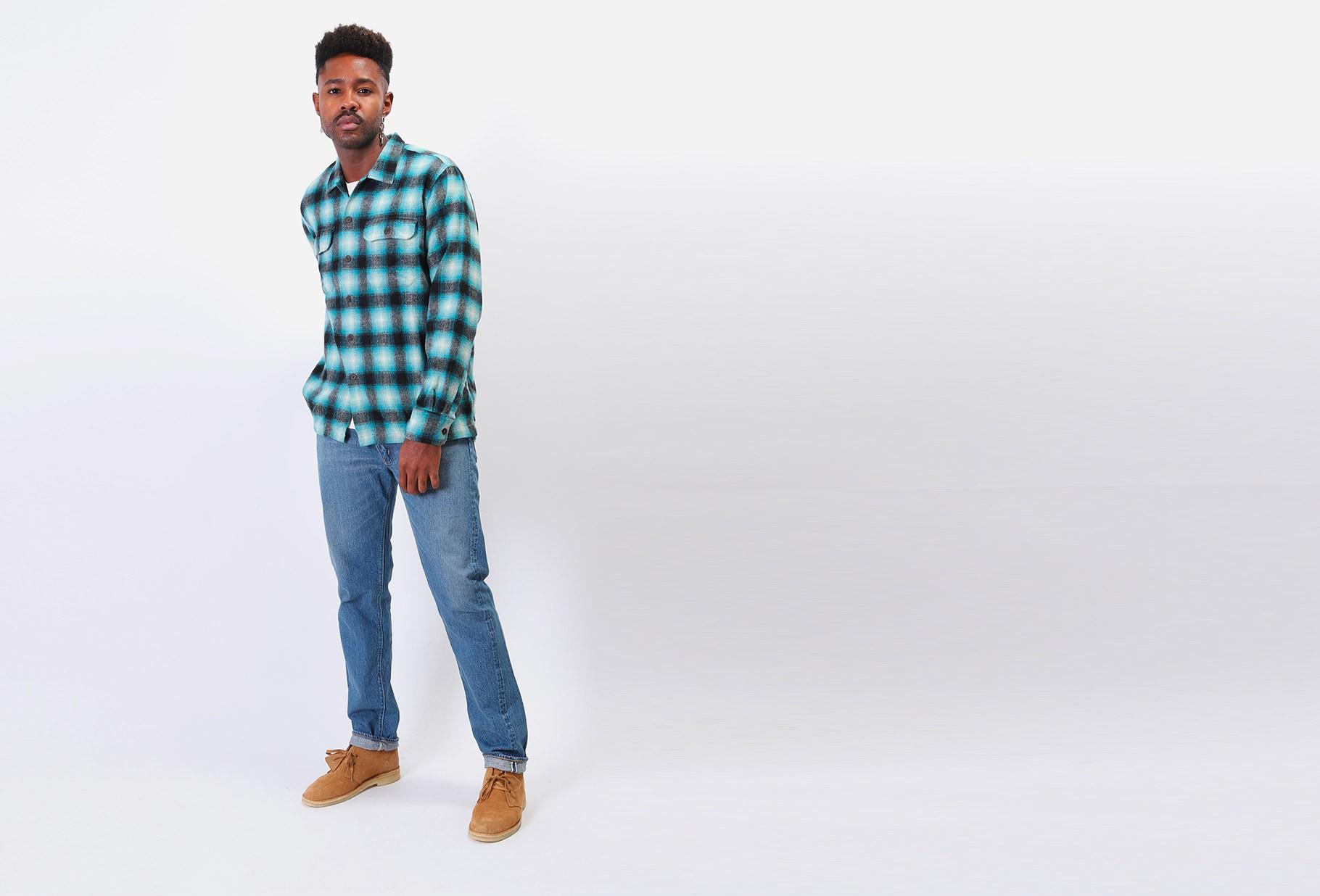 ORSLOW / 107 ivy fit jean denim 2 year wash