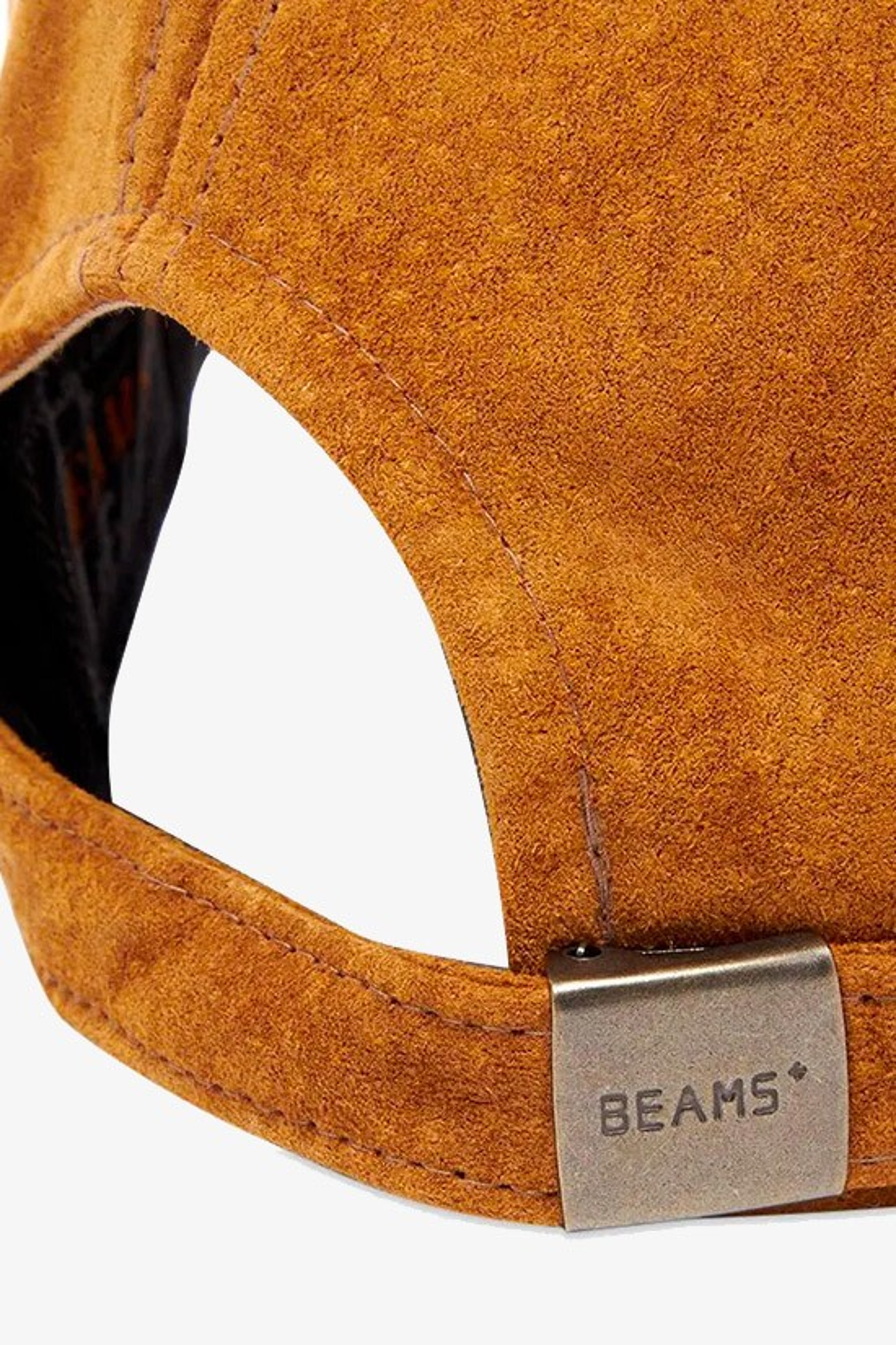 BEAMS PLUS / 6 panel cap suede Camel