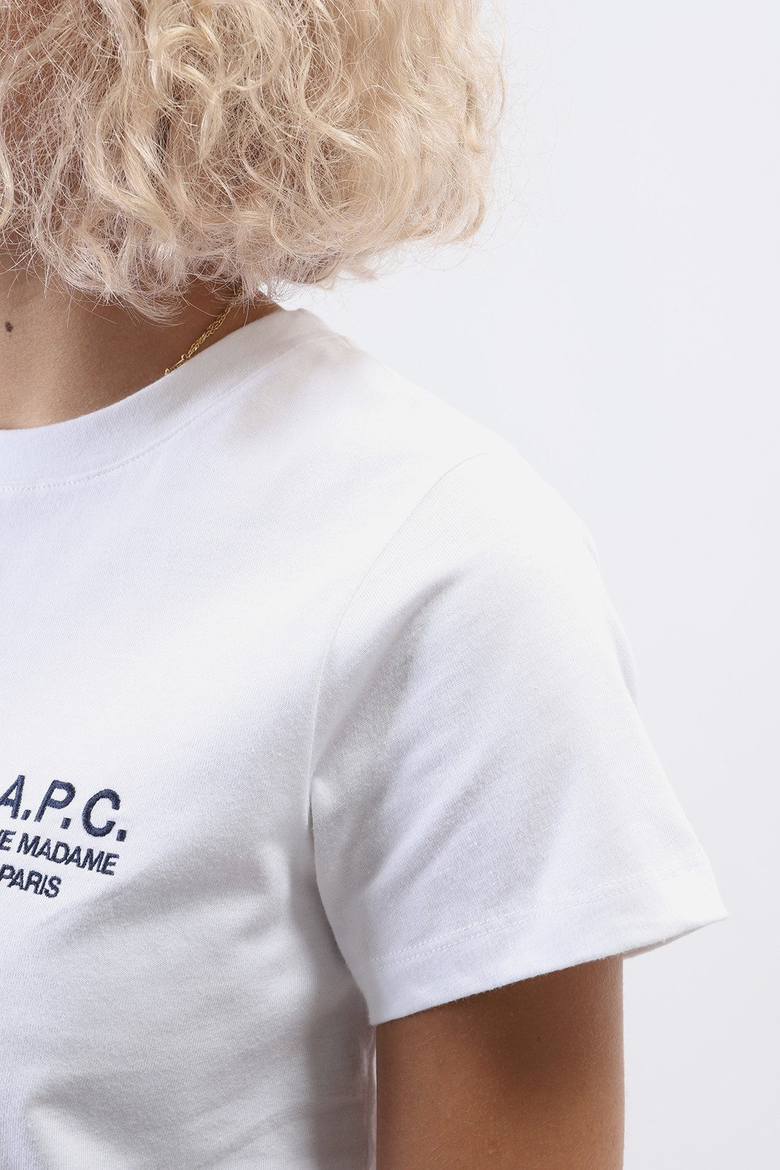 A.P.C. FOR WOMAN / T shirt denise Blanc