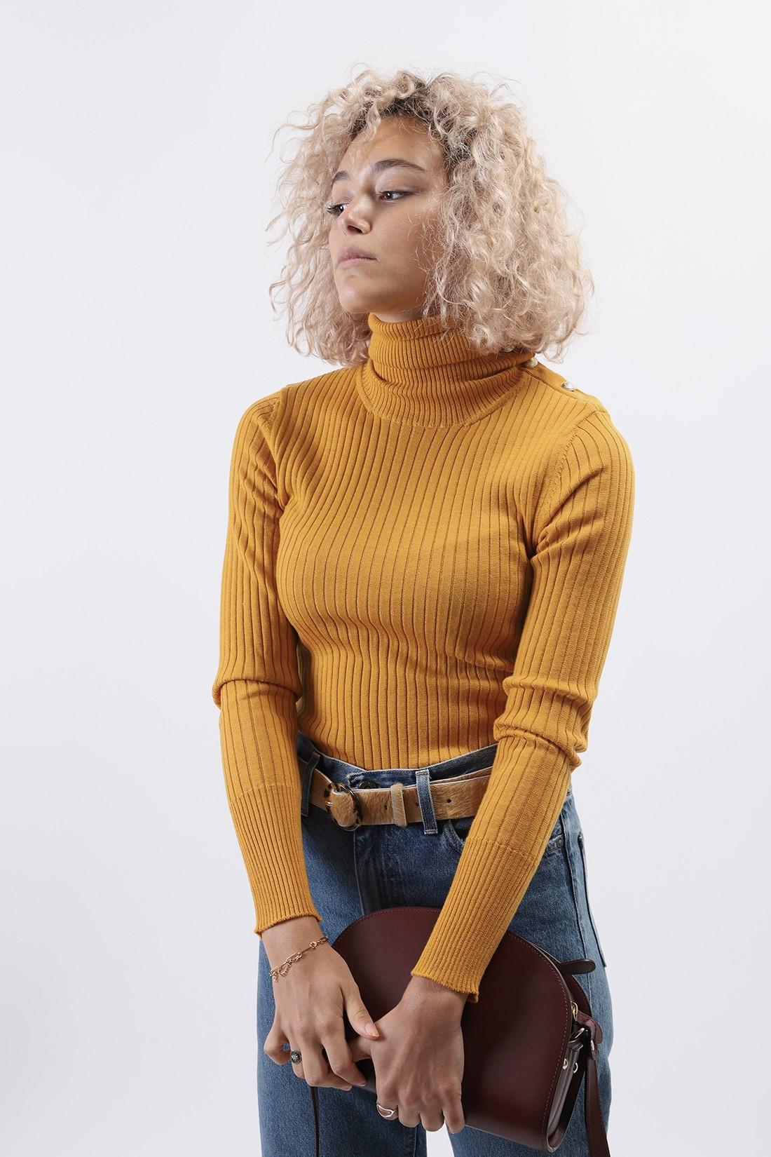 BARENA FOR WOMAN / Sweater rita Giallo
