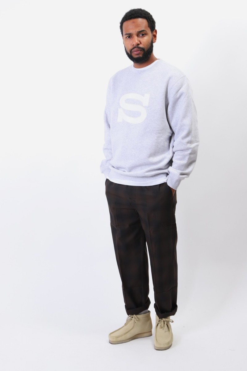 Stüssy s crew Ash heather