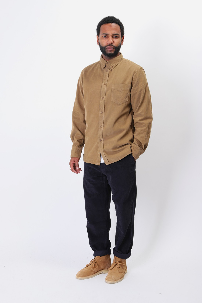 Everyday shirt corduroy Taupe