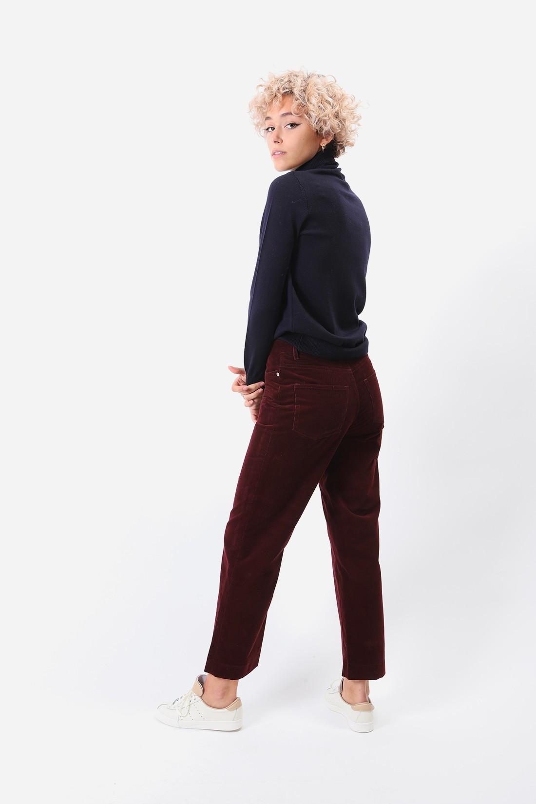 A.P.C. FOR WOMAN / Jean new sailor Bordeaux