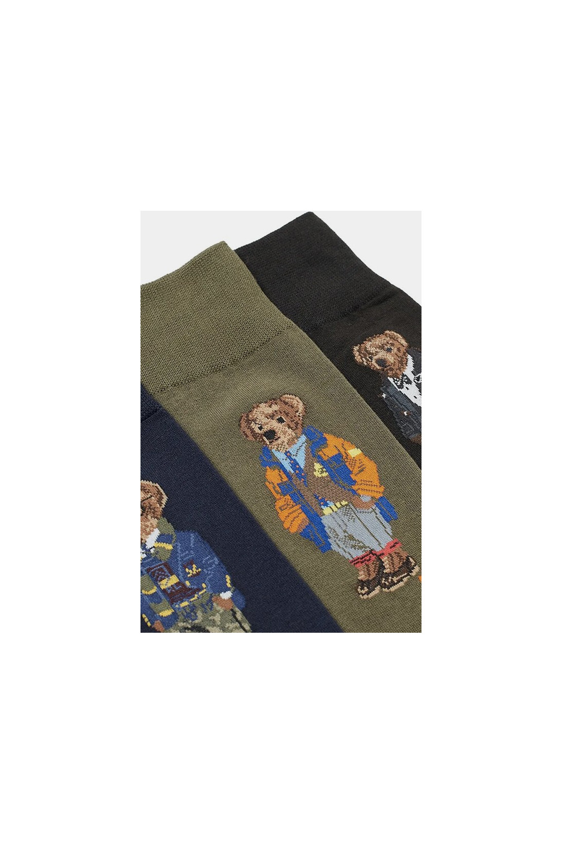 POLO RALPH LAUREN / Gift box 3 bear socks Multi
