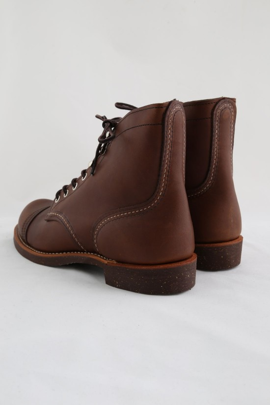 RED WING / Iron ranger Style no.8111 amber