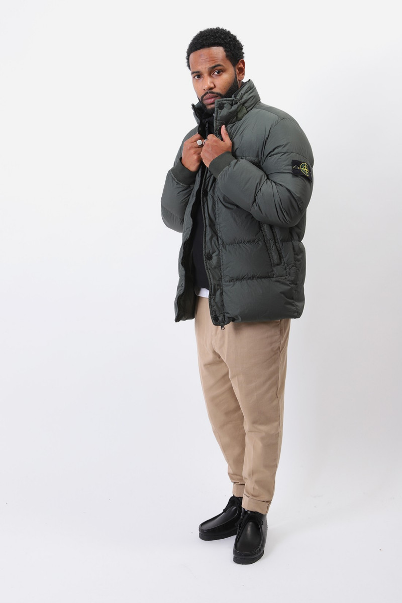 40123 crinkle reps down jacket Muschio