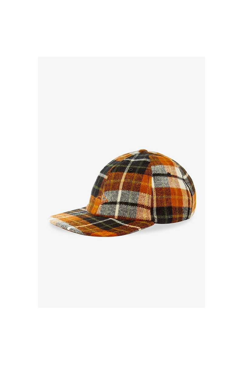 Field cap Chesnut plaid