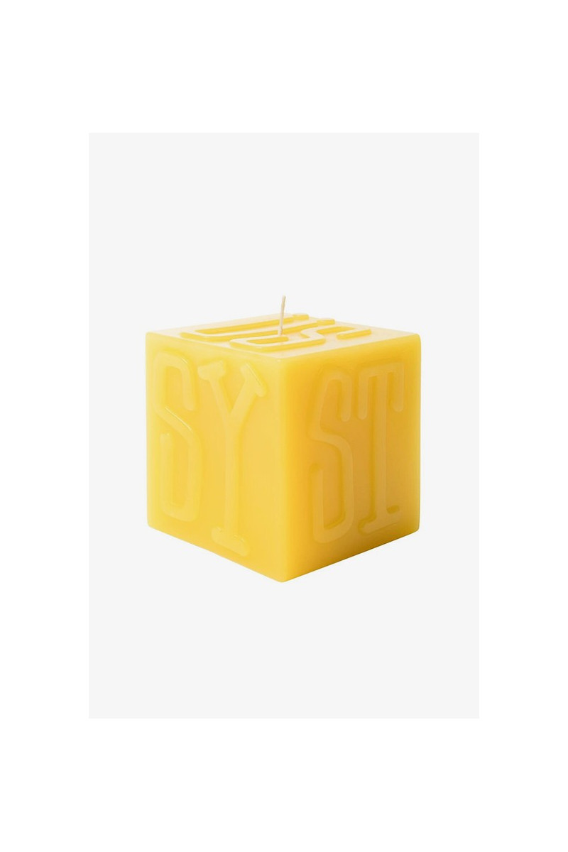 Stussy cube candle Yellow