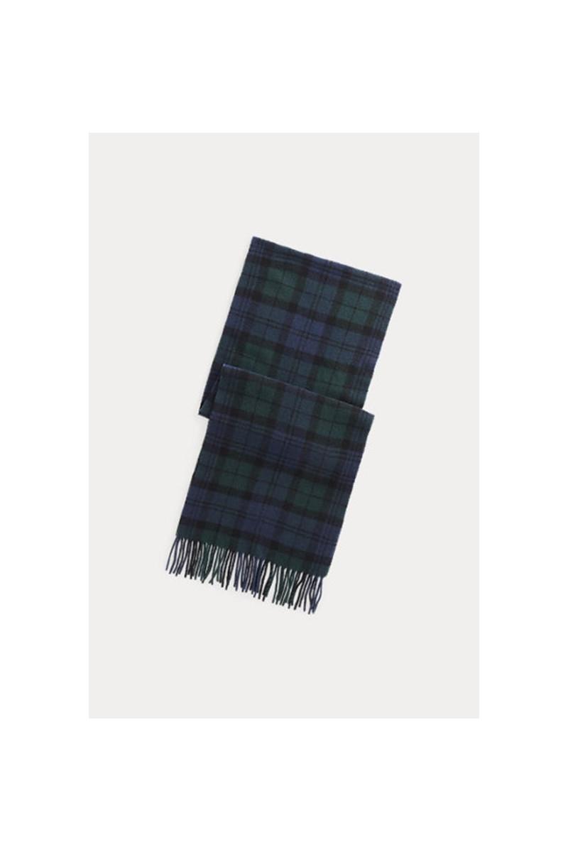 Polo oblong scarf tartan Blackwatch