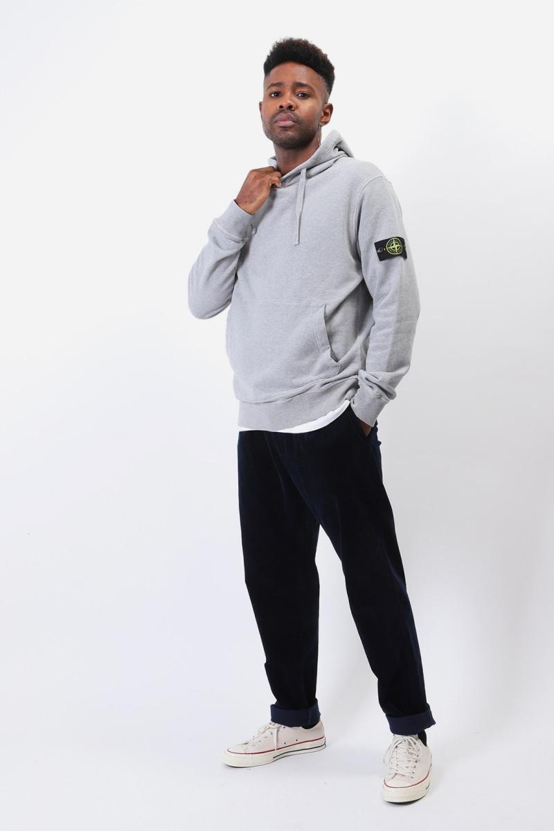 64120 hooded sweater v0m64 Polvere melange