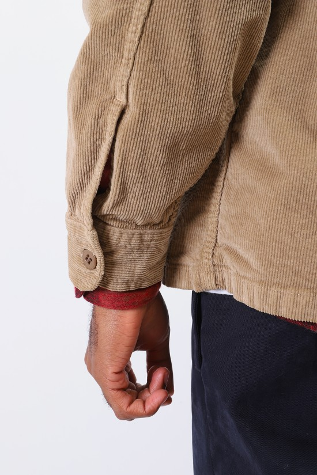 STAN RAY / Cpo shirt corduroy Khaki