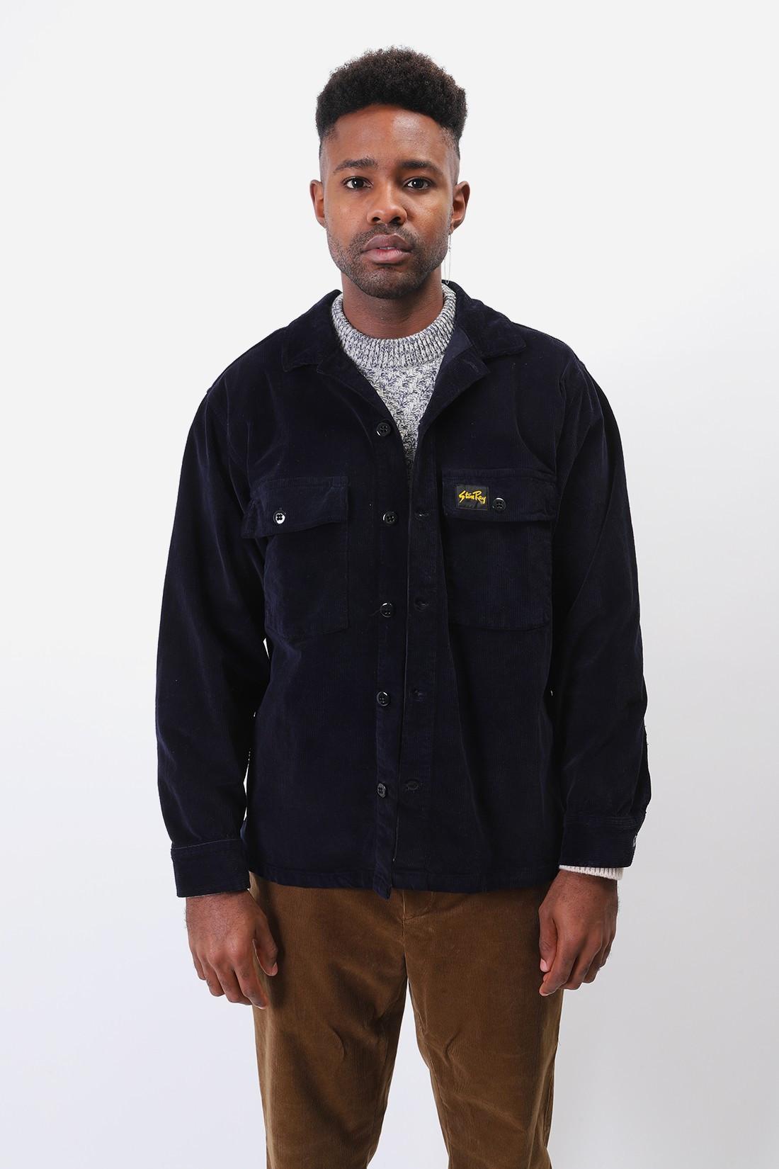STAN RAY / Cpo shirt corduroy Navy