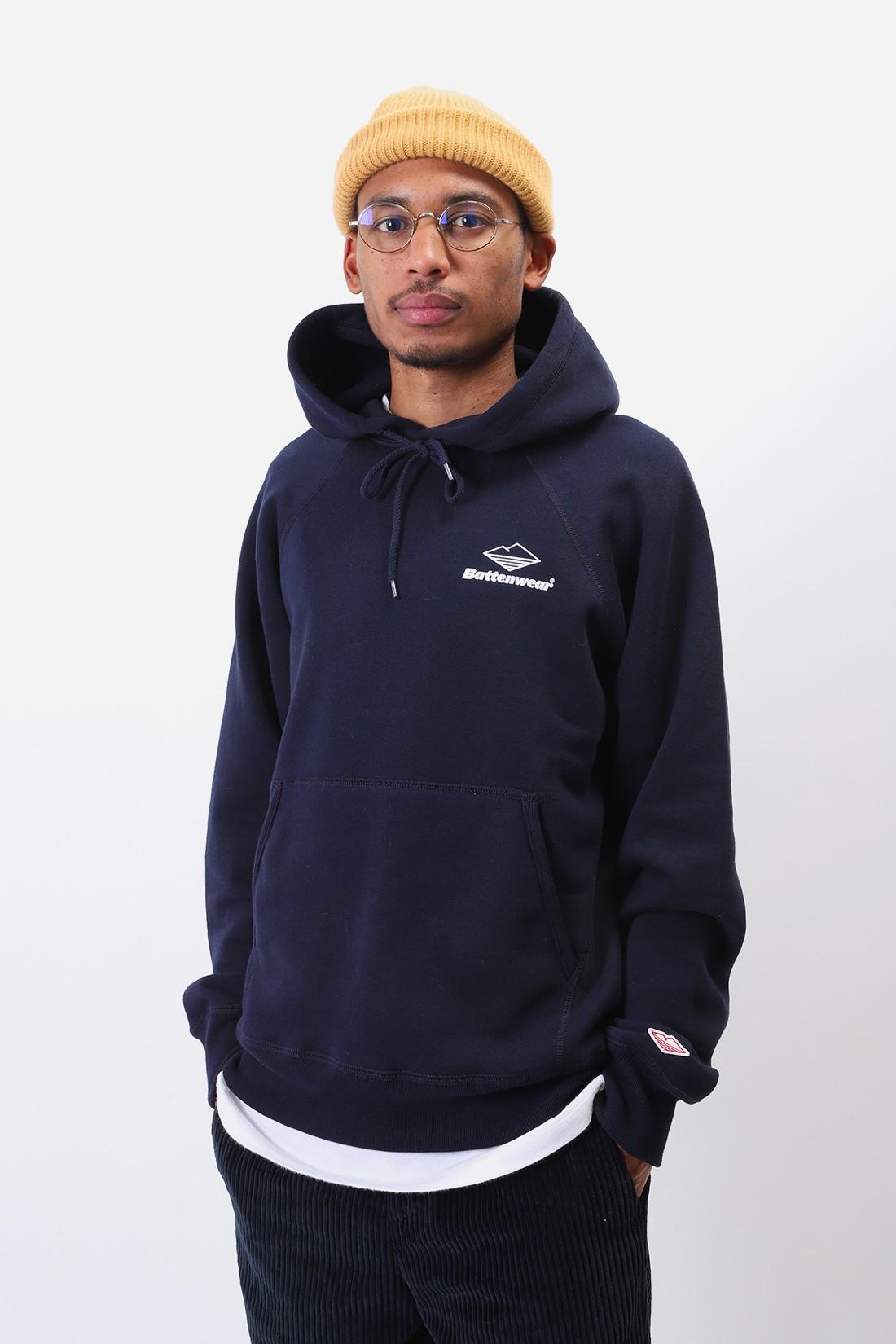 BATTENWEAR / Team reach up hoodie Midnight navy