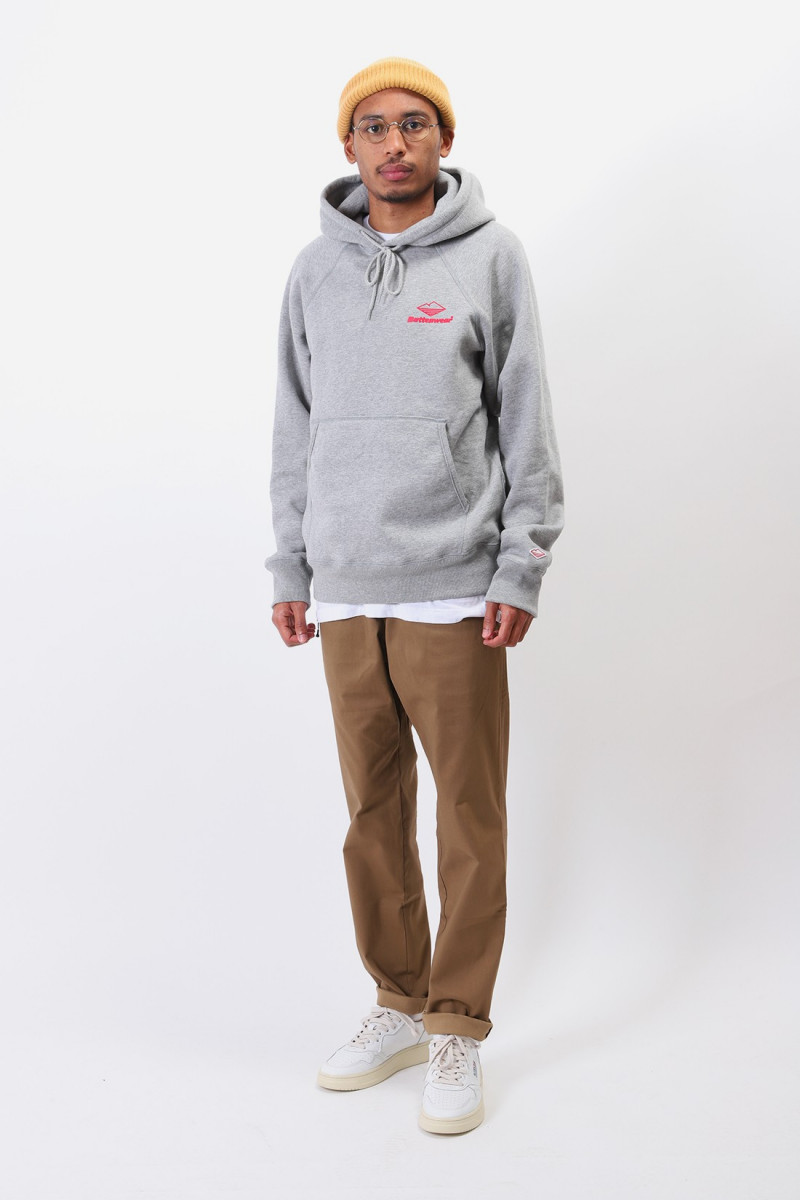 Team reach up hoodie Heather grey