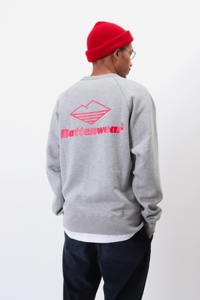 Team reach up sweatshirt Heather grey