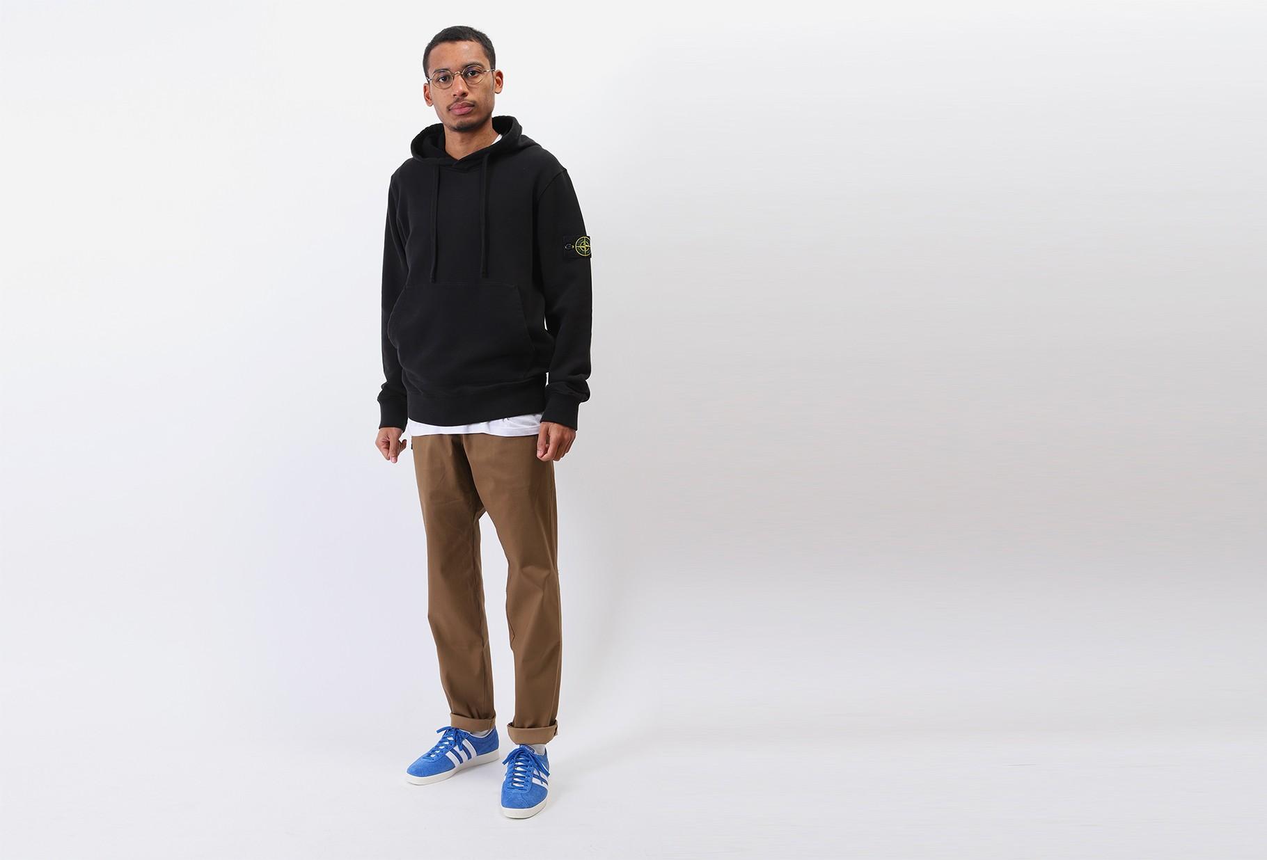 STONE ISLAND / 64120 hooded sweater v0029 Nero