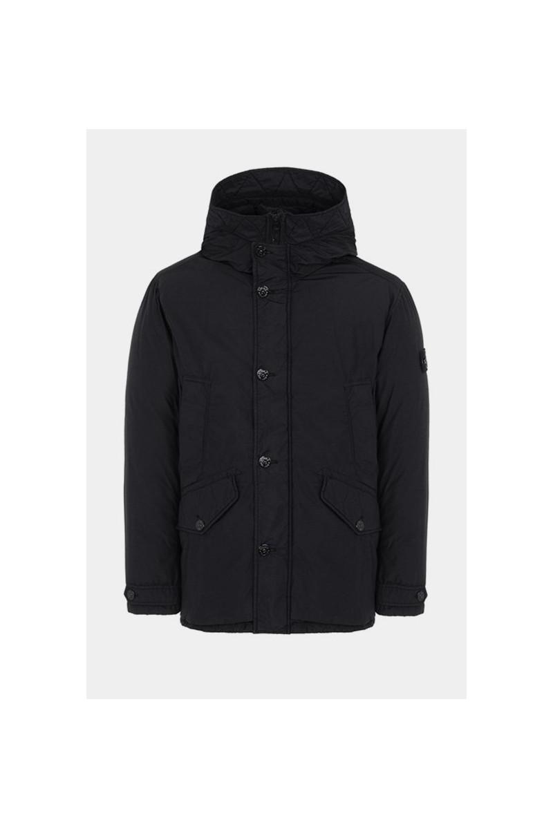 42732 real down jacket v0029 Nero
