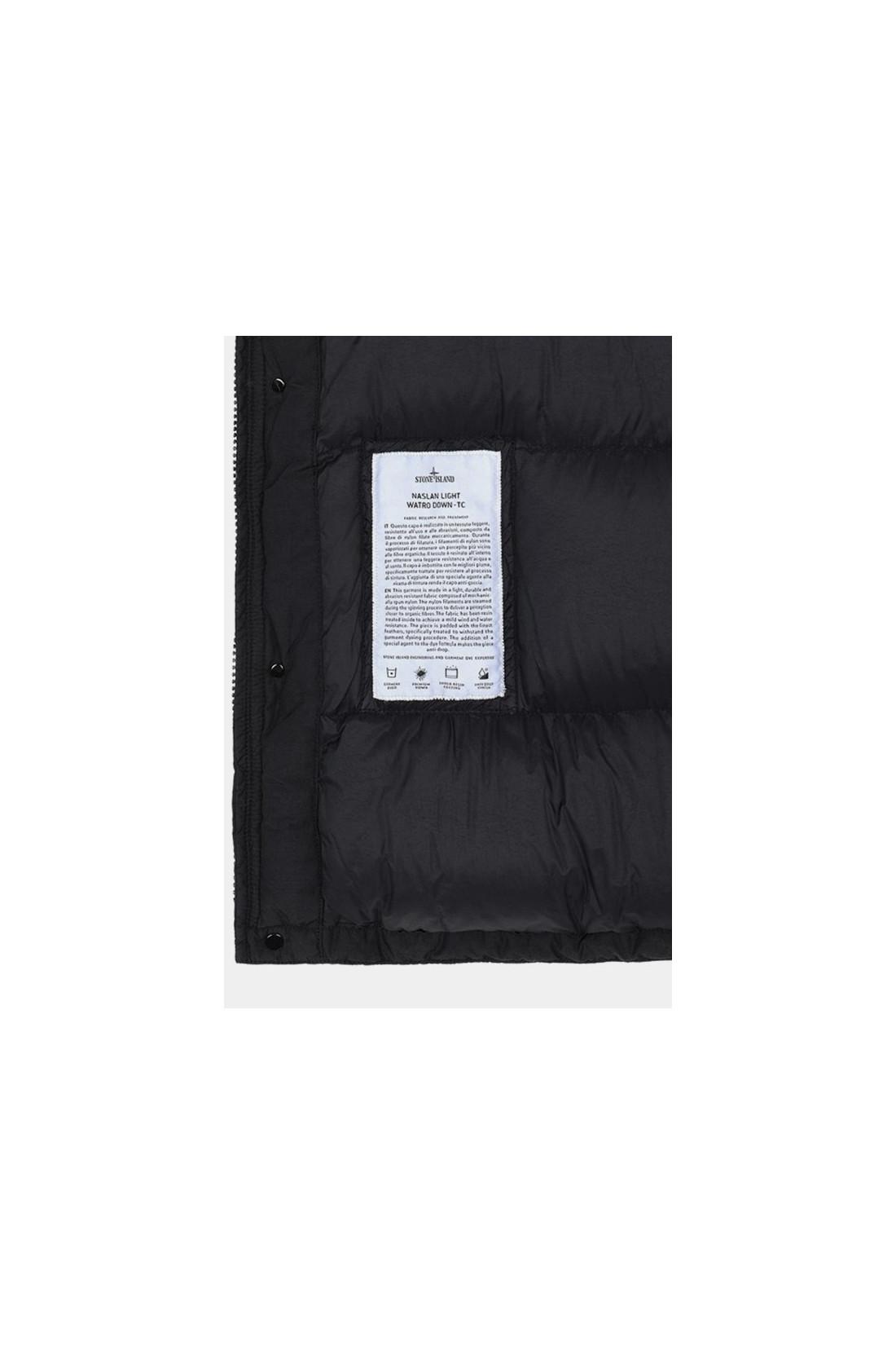 STONE ISLAND / 42732 real down jacket v0029 Nero