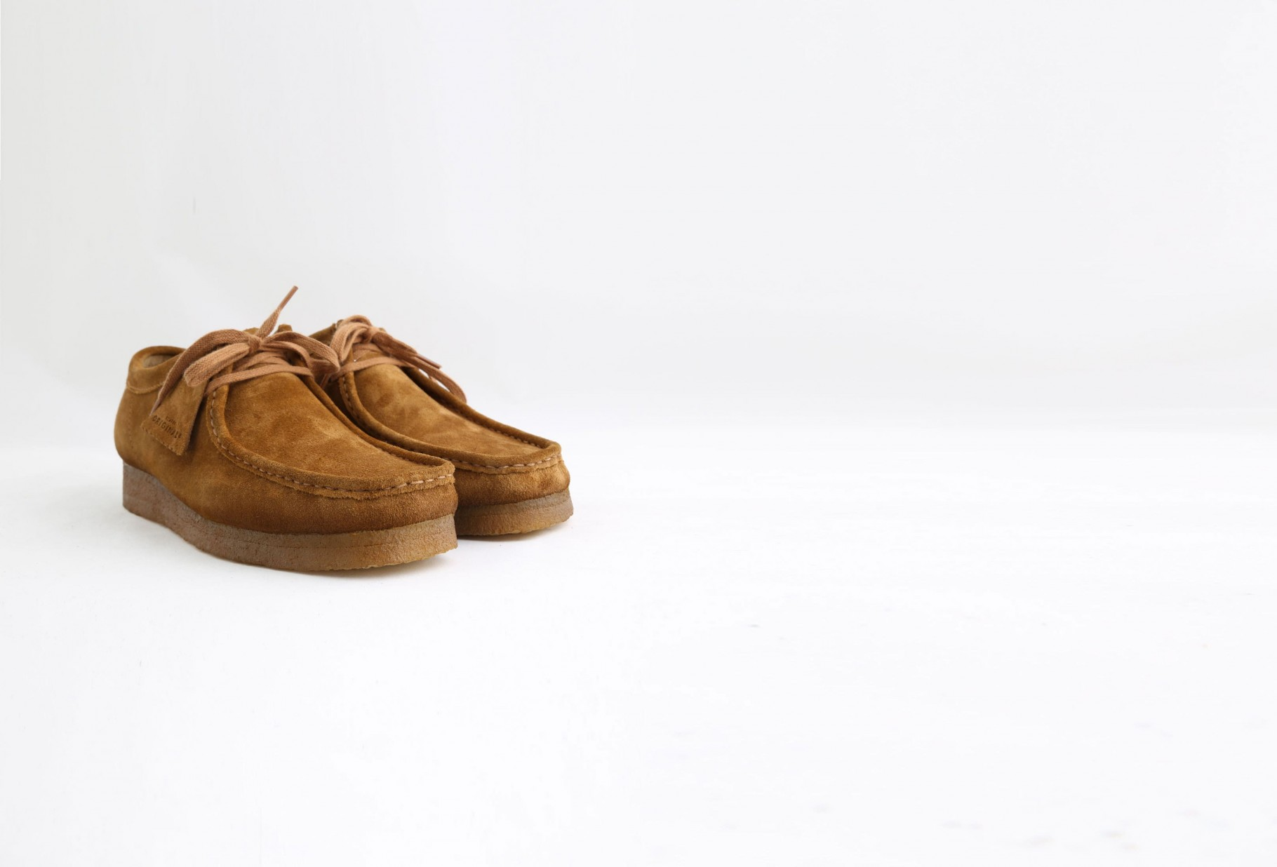 CLARKS ORIGINALS / Wallabee Cola suede