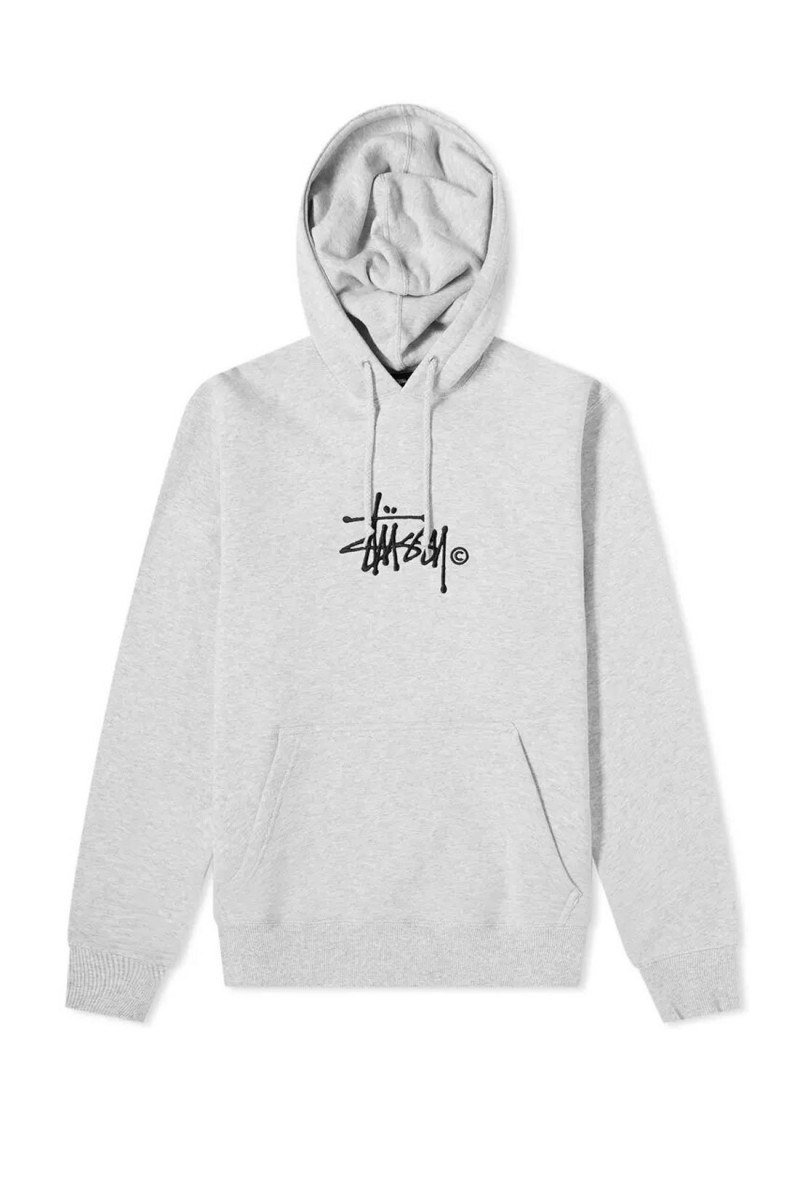 Copyright stock app. hoodie Ash heather