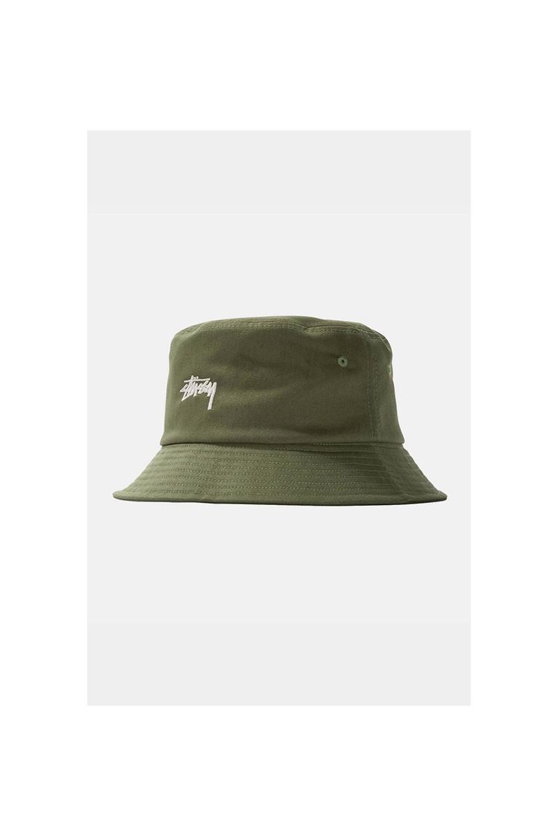 Stock bucket hat Olive