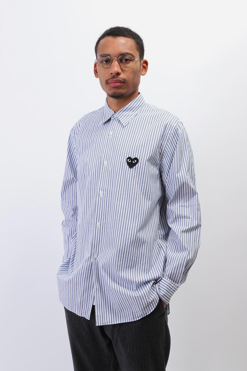 Play mens striped shirt p1b016 Blue