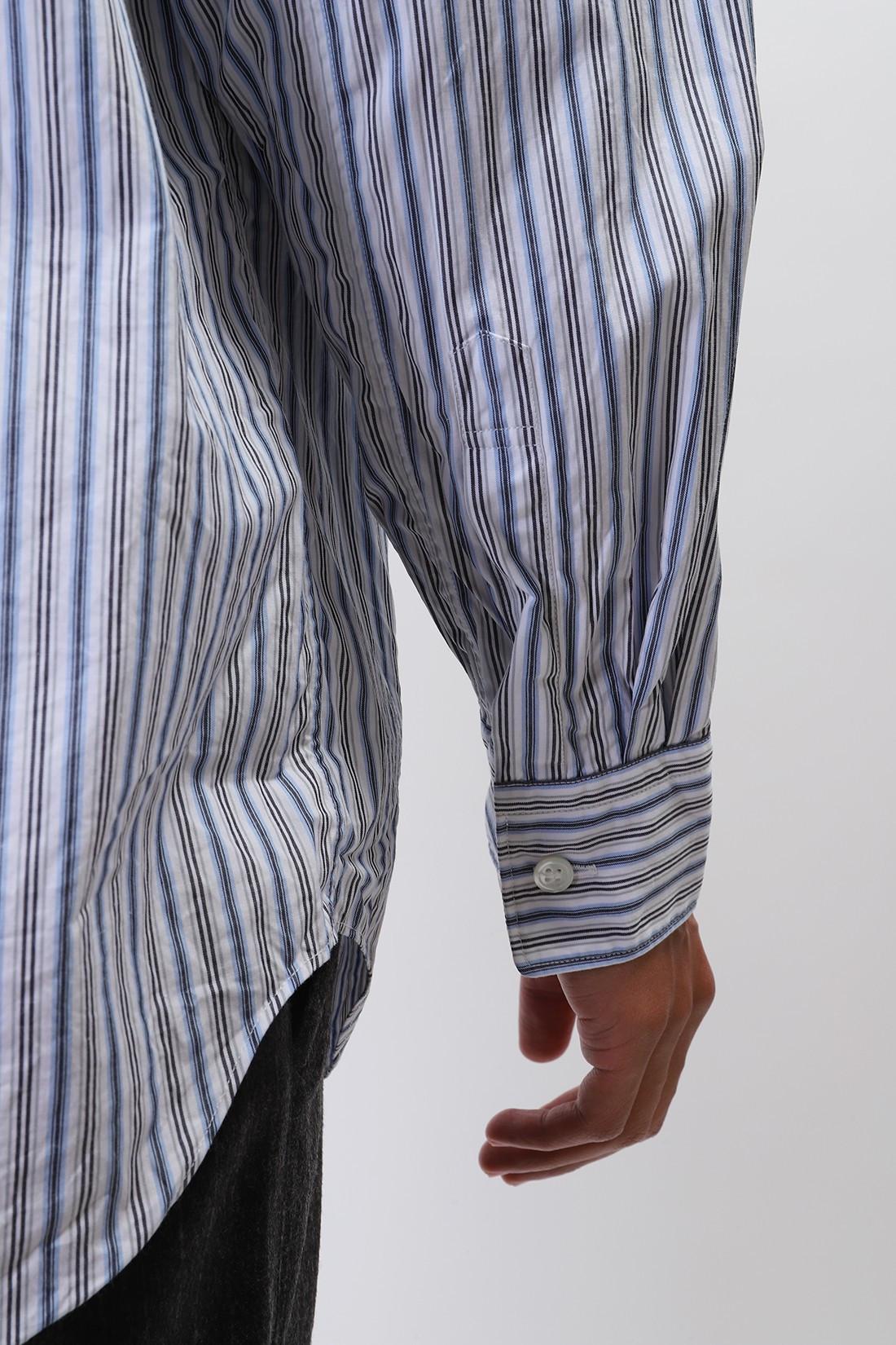 COMME DES GARÇONS PLAY / Play mens striped shirt p1b016 Blue