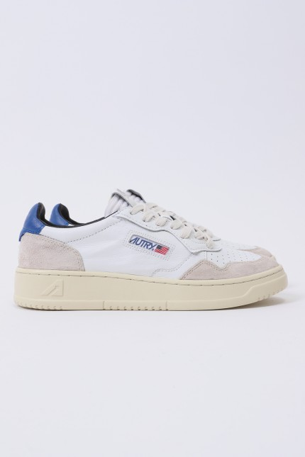 Autry ls23 Leat/suede wht/blue