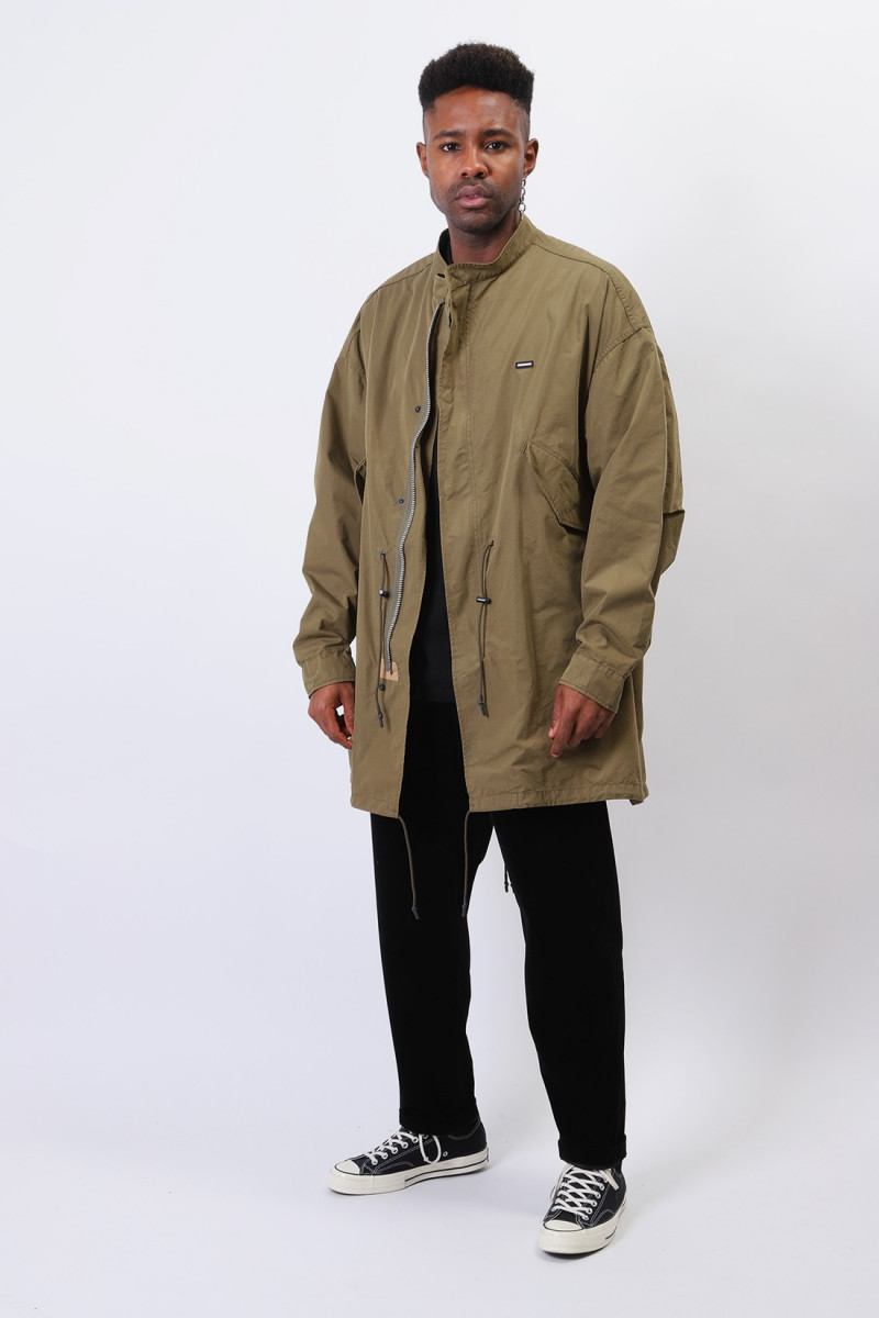 Fishtail / cn-coat Olive drab