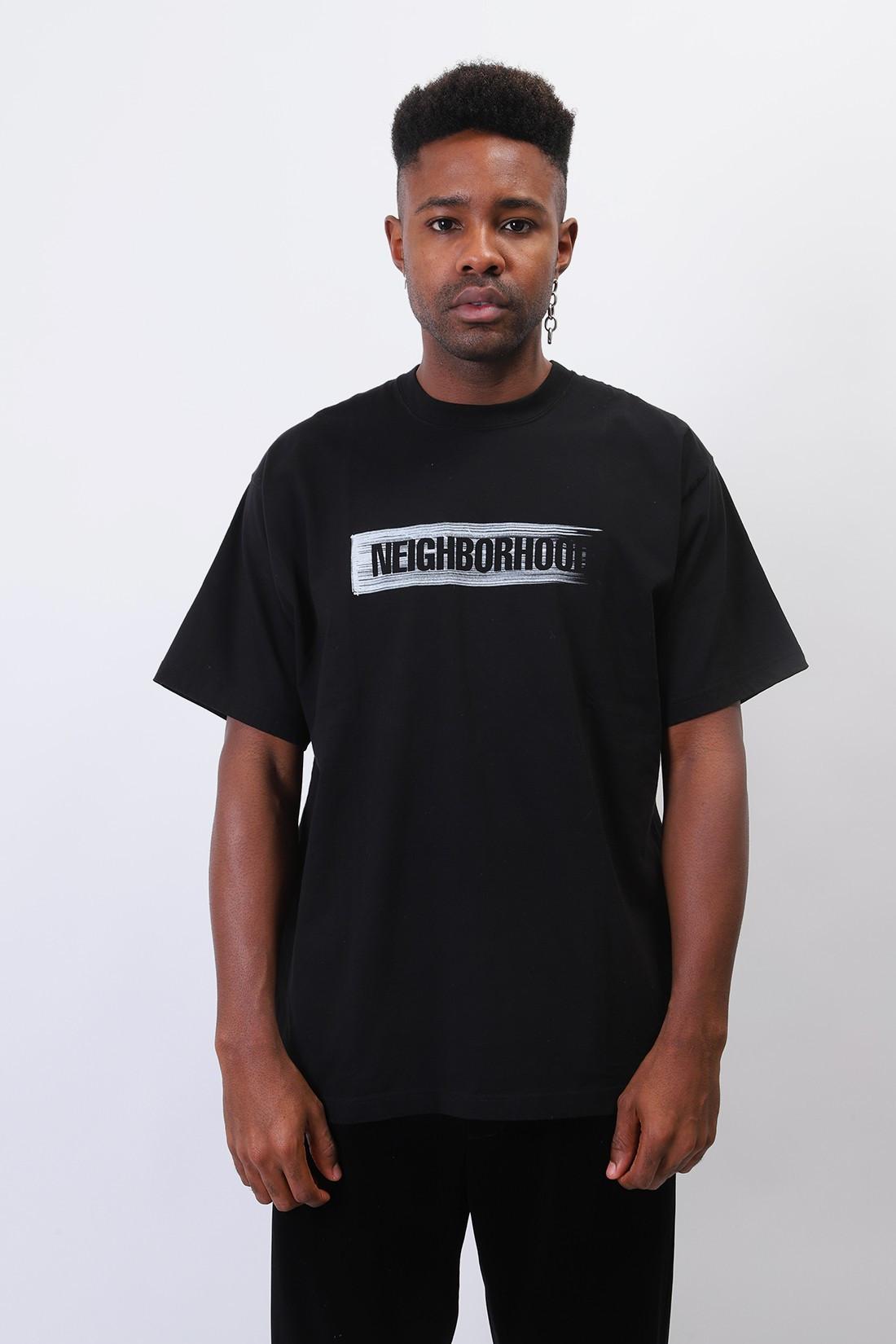 NEIGHBORHOOD / Surface / c-tee . ss Black