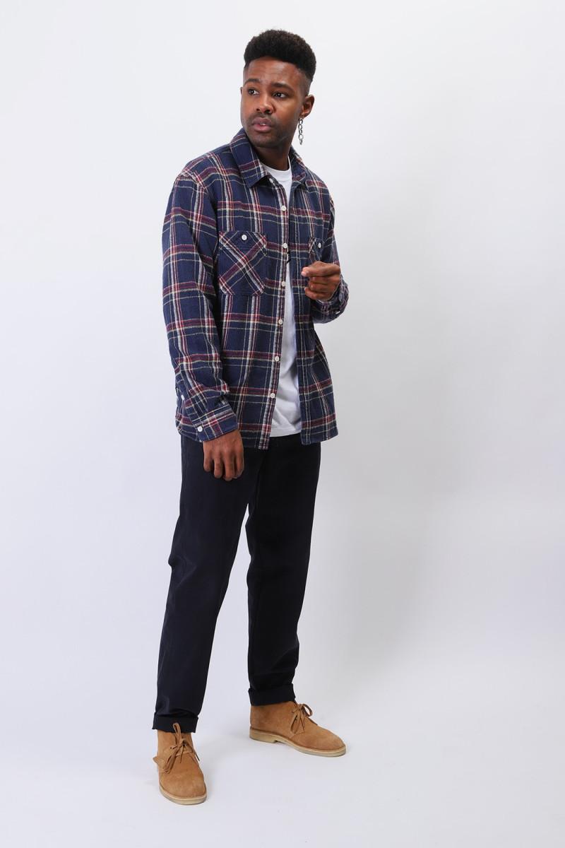 Lumbers / c-shirt . ls Navy