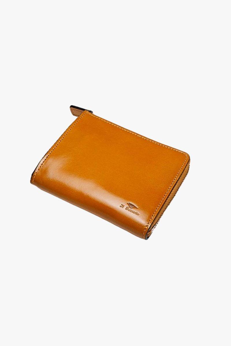 Isola wallet Ochre