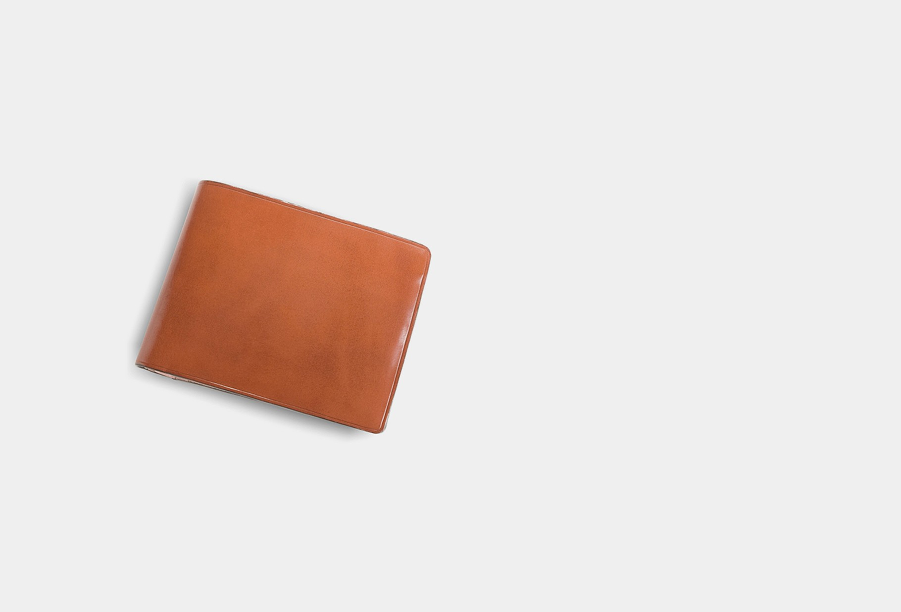 IL BUSSETTO / Bi-fold wallet w/ coin pocket Light brown