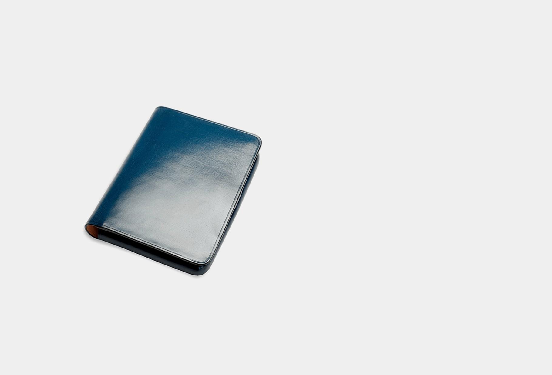 IL BUSSETTO / Nolo wallet Poseidon blue