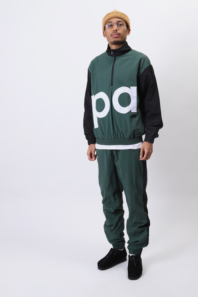 Patta colour block tracksuit Dark green / black