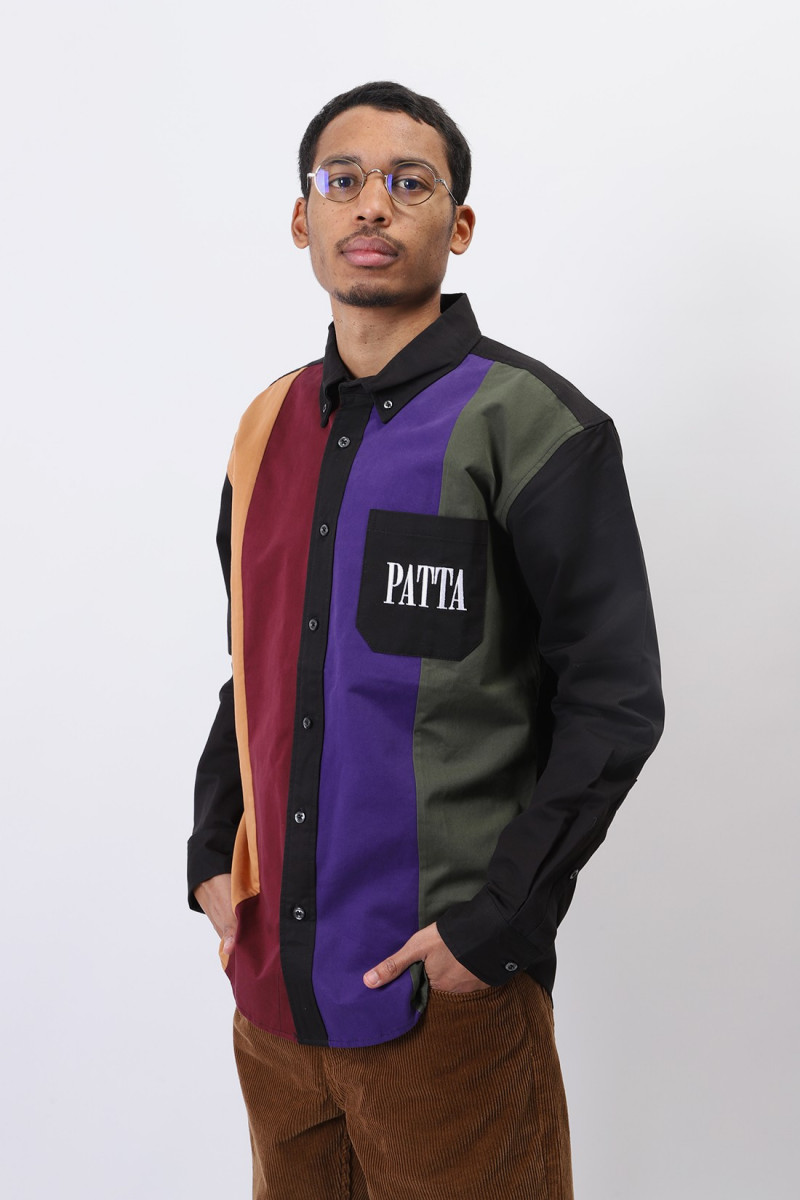 Patta panelled relaxed button Multi