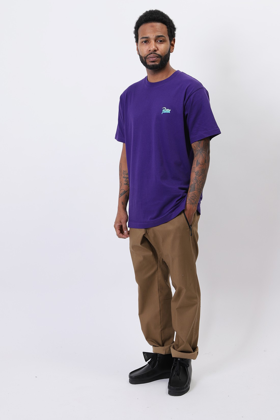 PATTA / Patta duty calls t-shirt Parachute purple