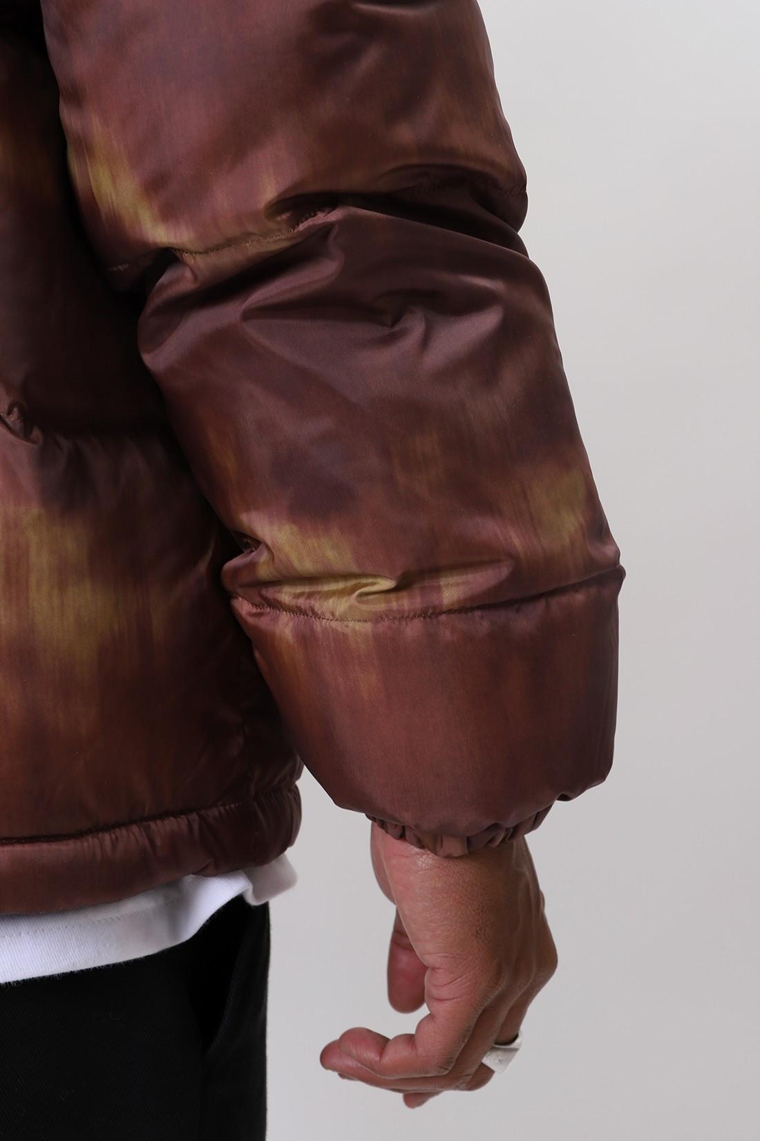 STUSSY / Aurora puffer jacket Brown