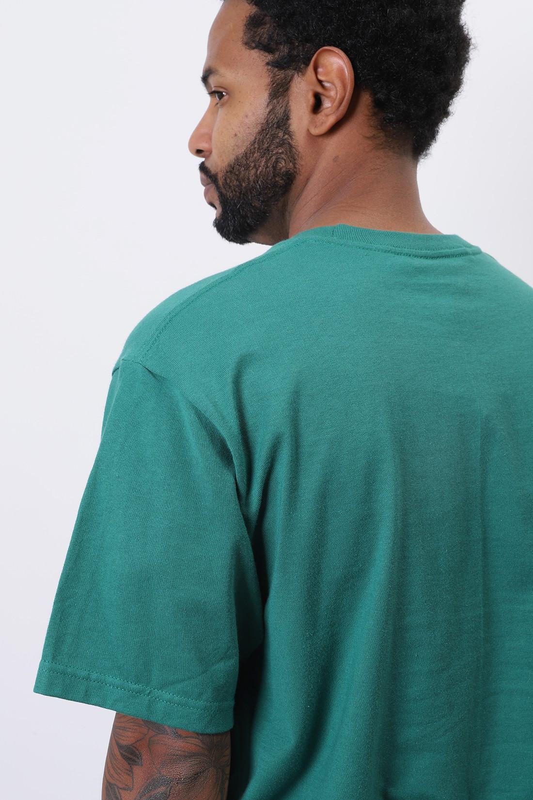 STUSSY / Gasser tee Dark green