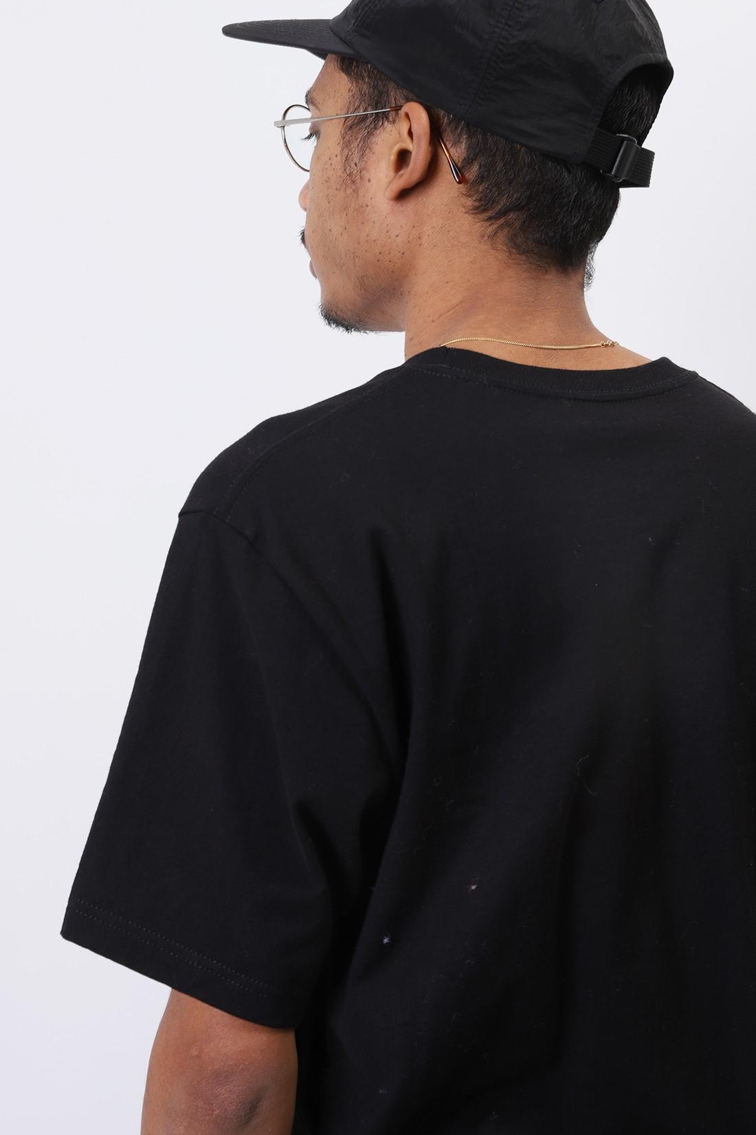 STUSSY / Irises tee Black