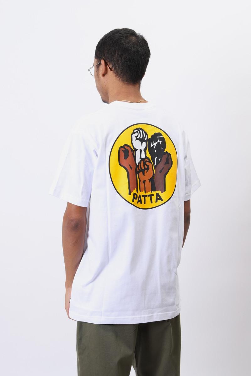 Patta fists tshirt White