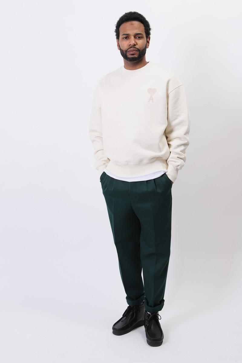 Sweatshirt ami de coeur Ecru