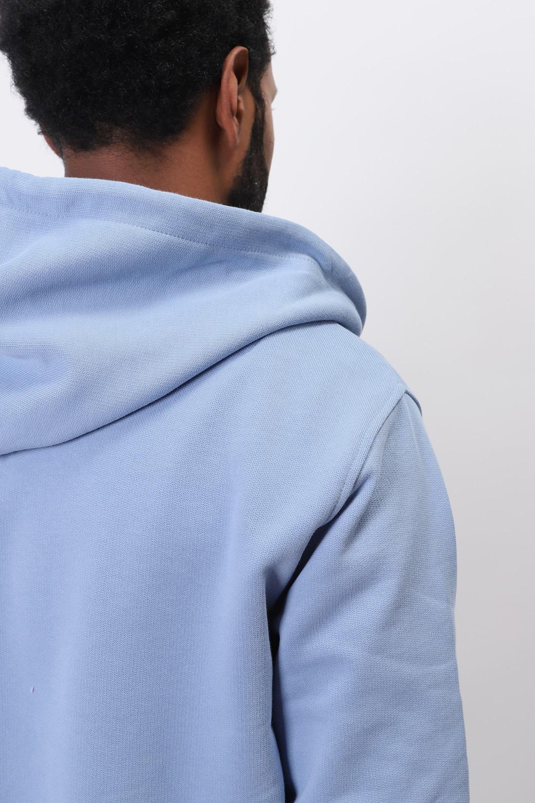 AMI / Hoodie zippe ami de coeur Bleu ciel