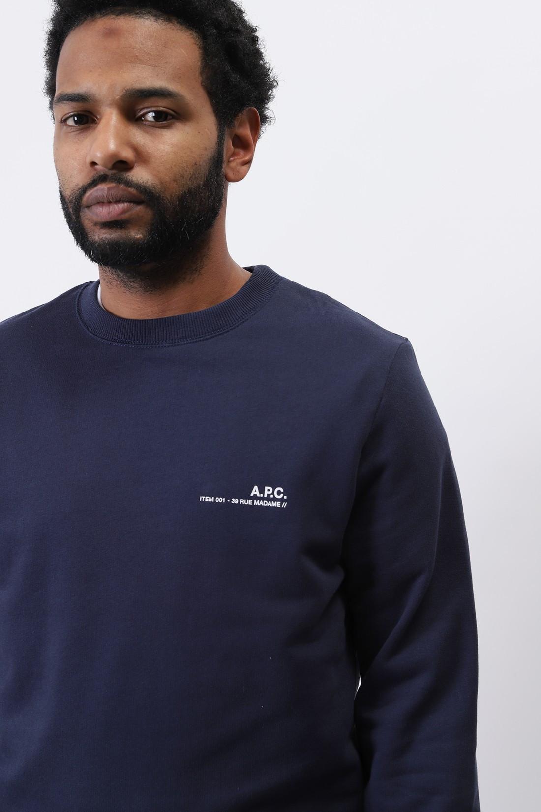 A.P.C. / Sweat item Dark navy