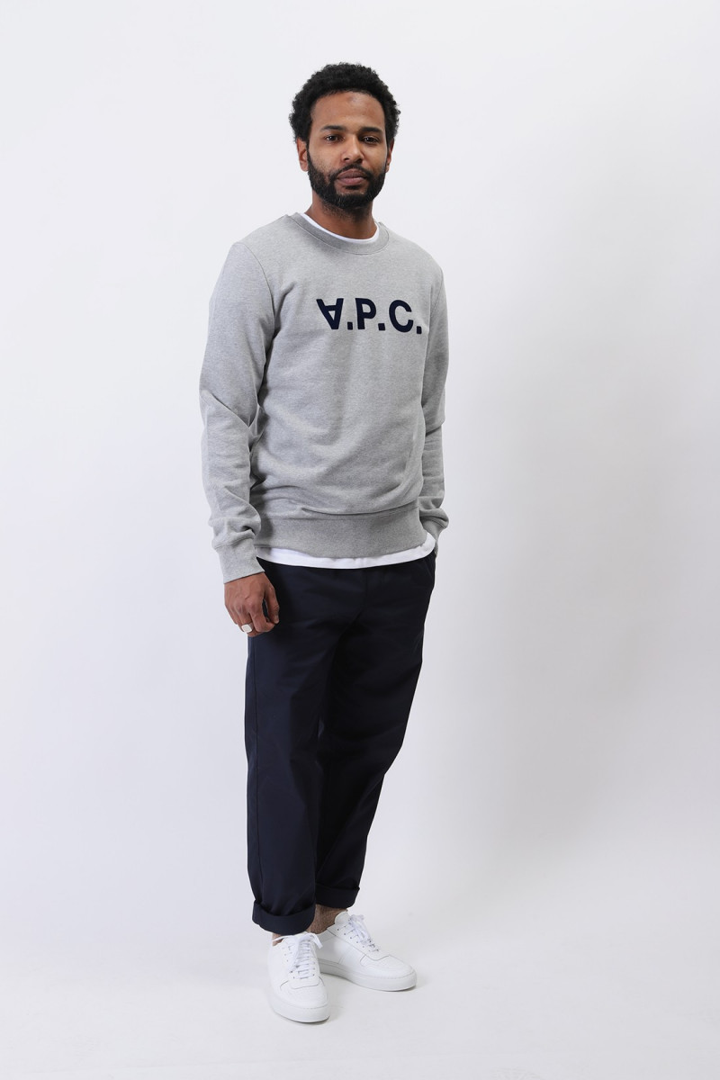 Sweat vpc Gris chine