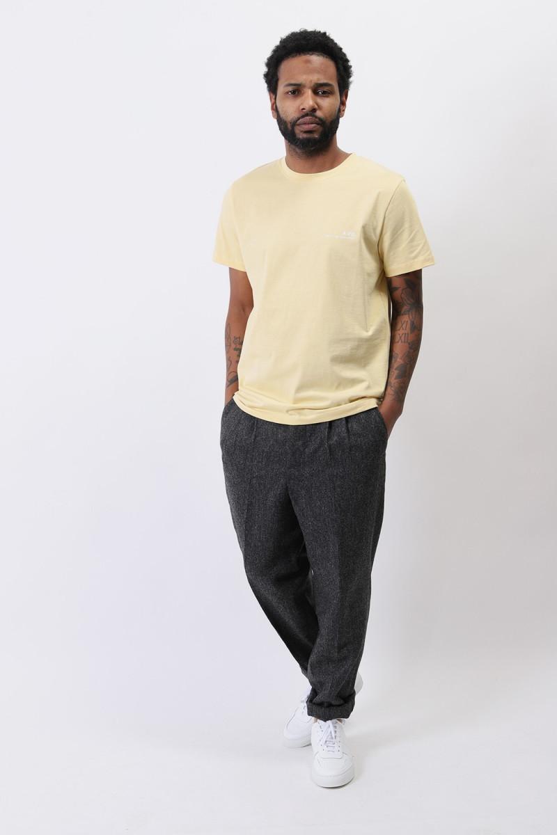 T-shirt item Jaune clair