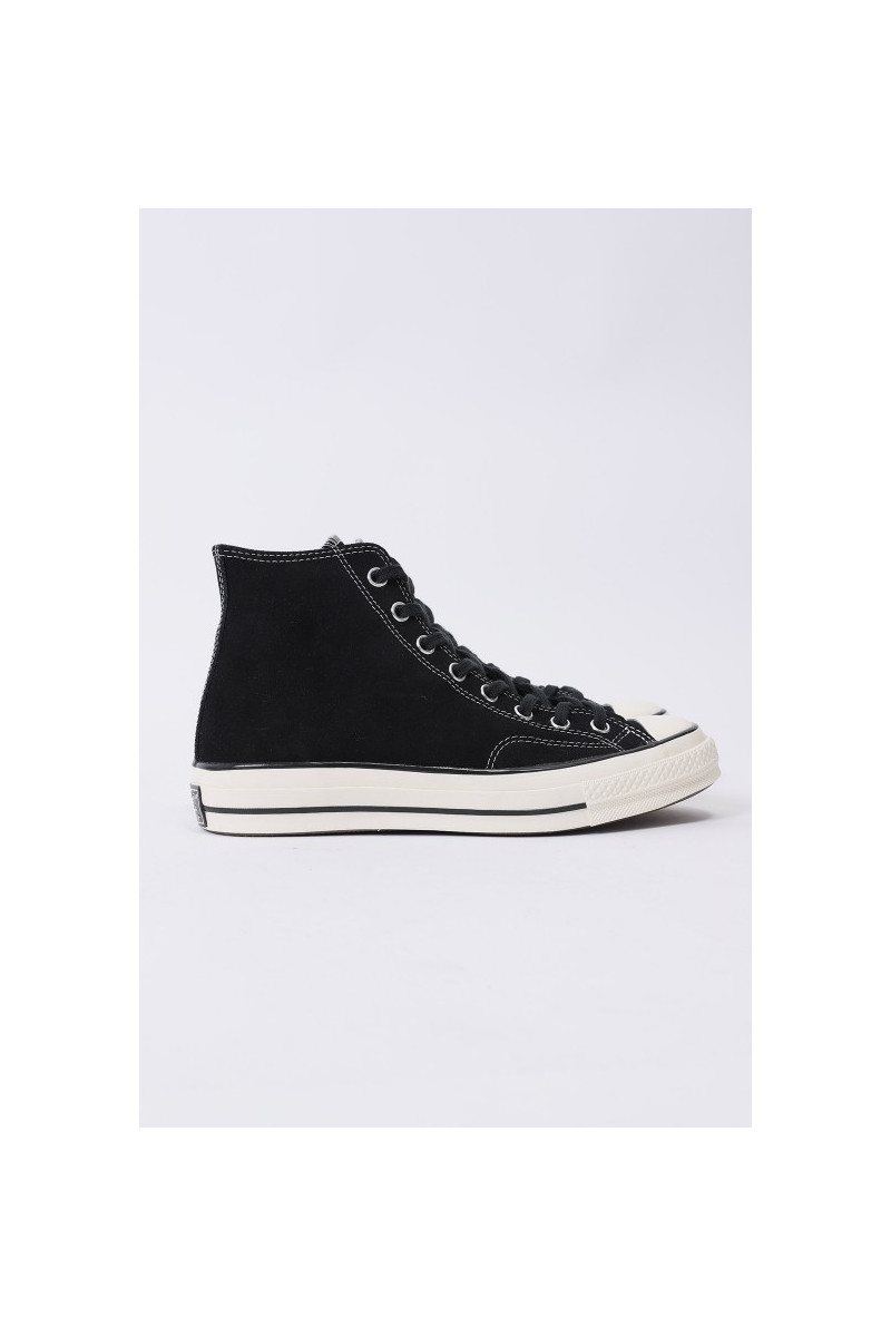 Ctas 70's hi suede leather Black