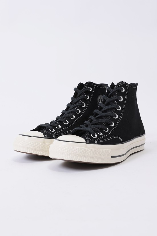 CONVERSE / Ctas 70's hi suede leather Black