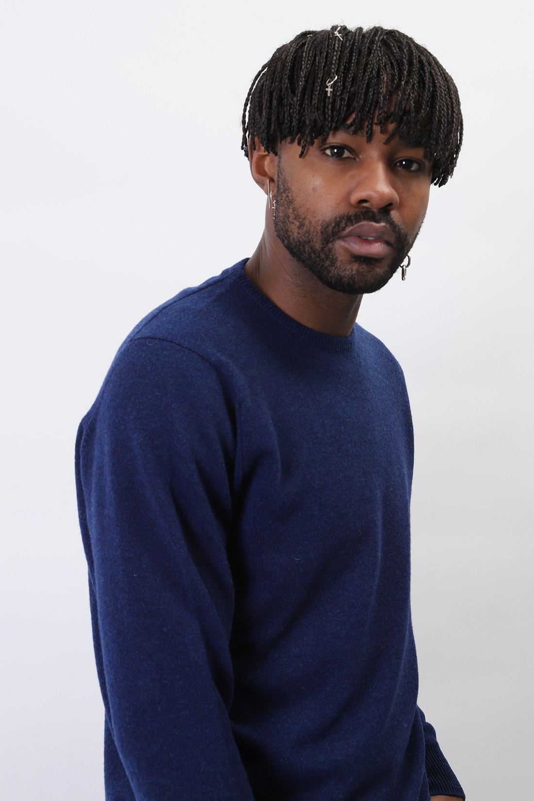 WILLIAM LOCKIE / Lambswool jumper crew neck Regatta